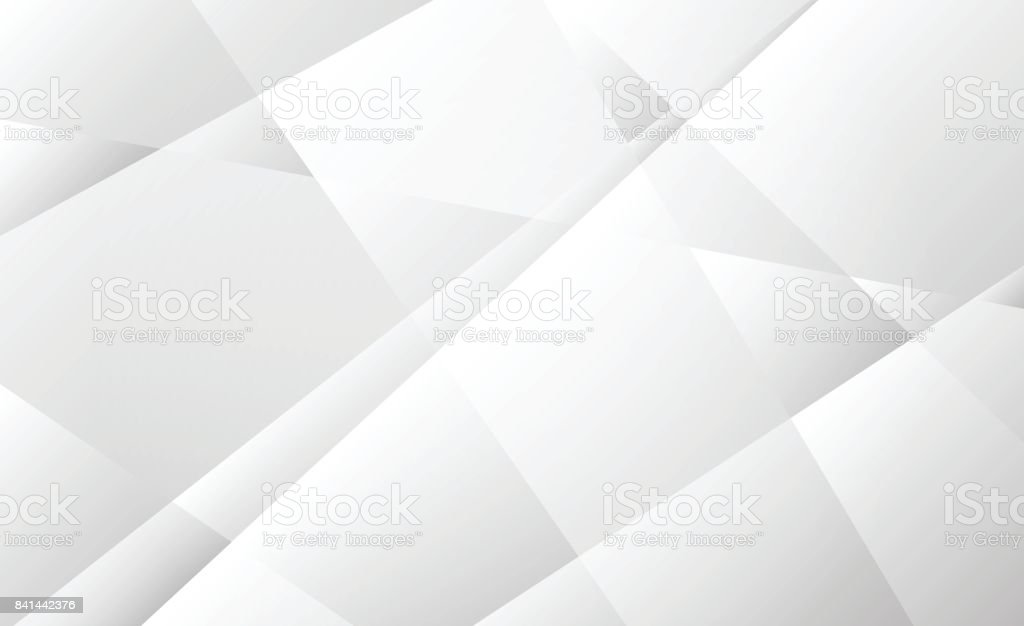 Abstract soft gray transparent geometric shapes on white background, Vector illustration vector art illustration