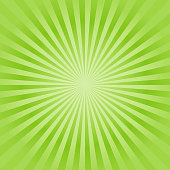 Abstract soft Green rays background. Vector EPS 10 cmyk