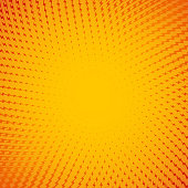 Yellow solar charge abstract vector background