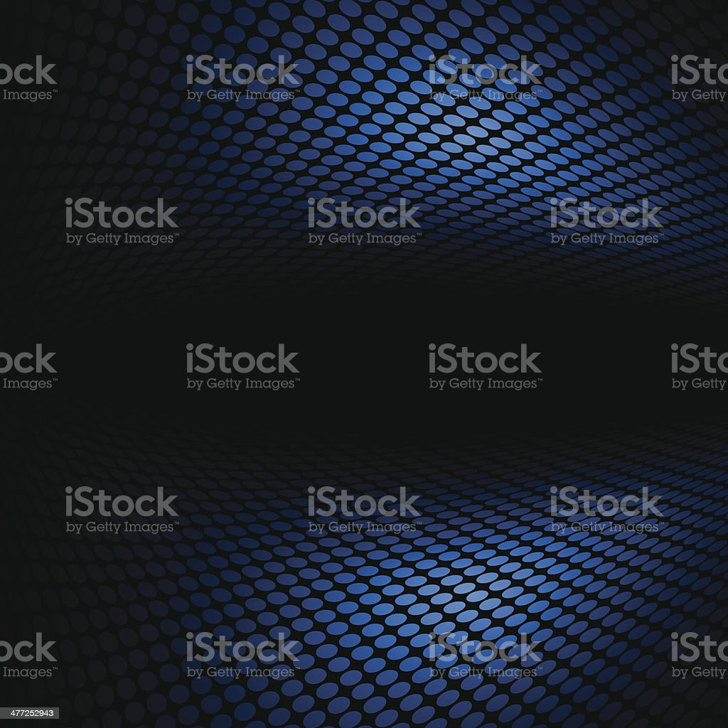 Abstract space concept halftone background vector art illustration