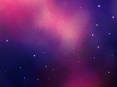 modern style abstract space vector background with stars nebula