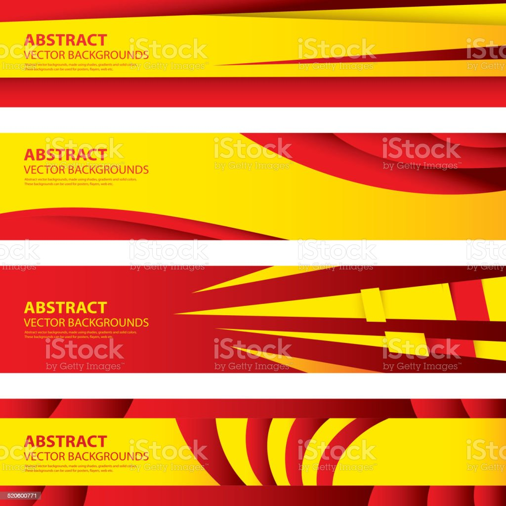 abstract spanish flag background spain art stock vector art