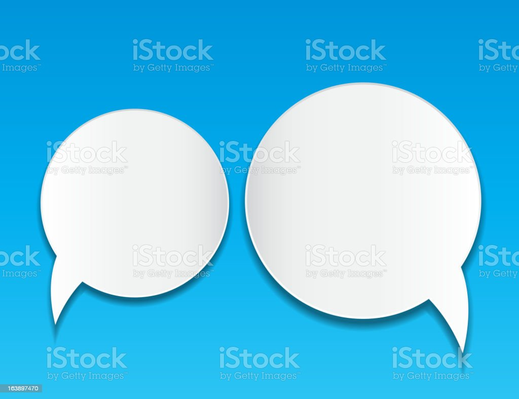 Abstract speech bubble vector background royalty-free abstract speech bubble vector background stock vector art & more images of abstract