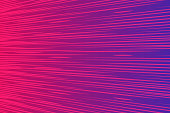 Abstract speed zoom lines background. Dark purple pink Radial motion move blur. Zooming effect. Wave vector illustration