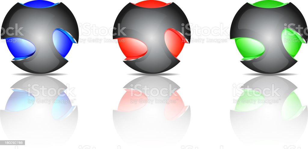 Abstract sphere logos royalty-free abstract sphere logos stock vector art & more images of abstract