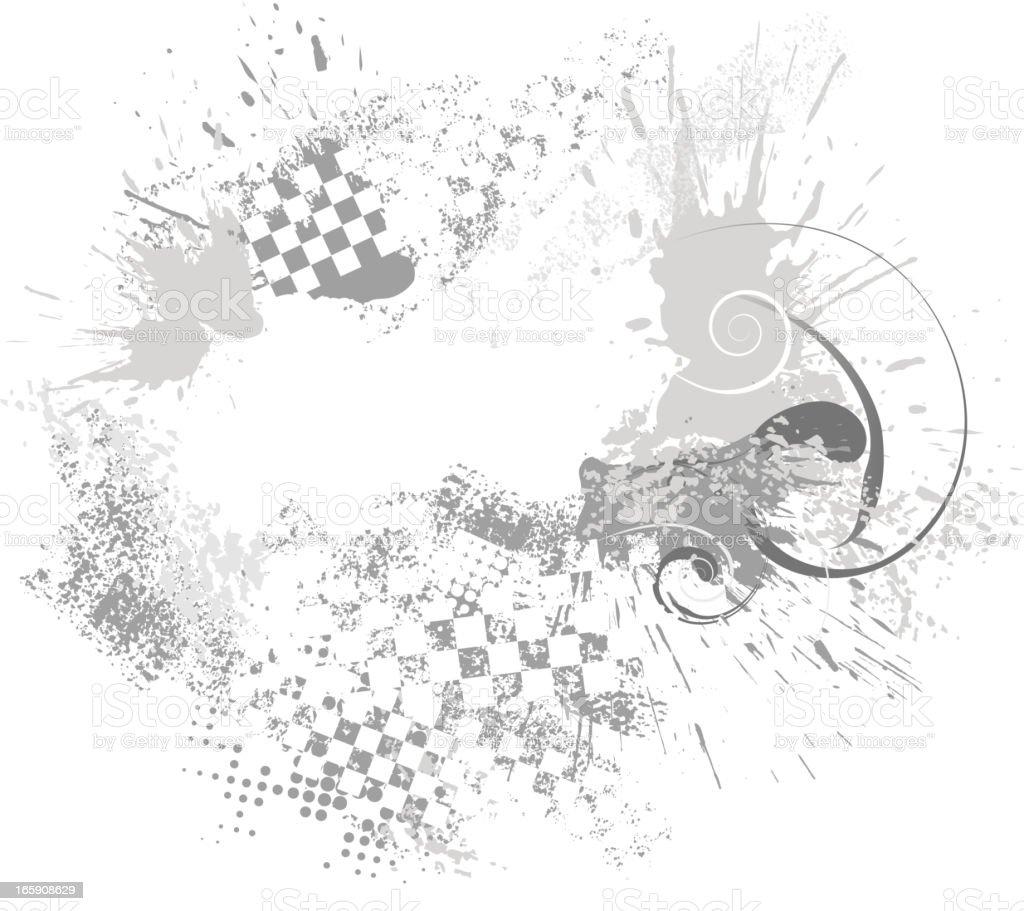 abstract sports race backround vector art illustration