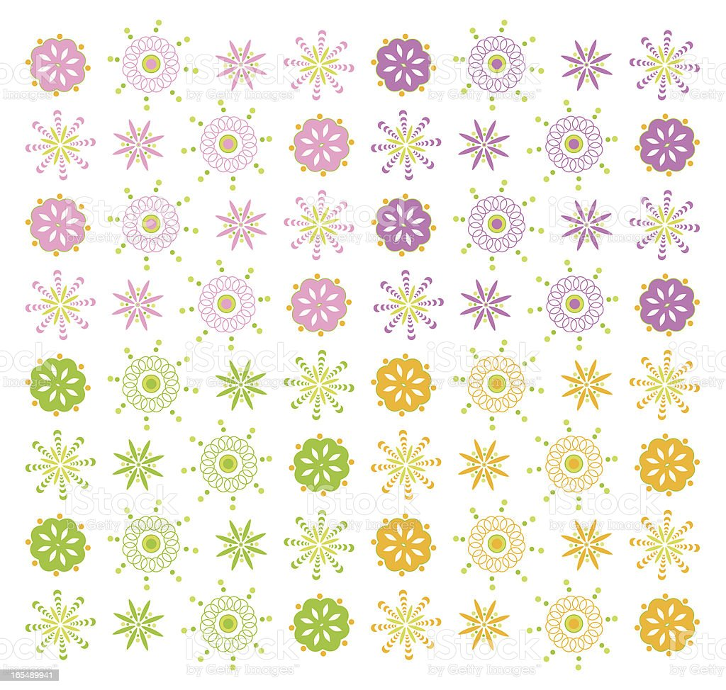 Abstract spring background royalty-free stock vector art