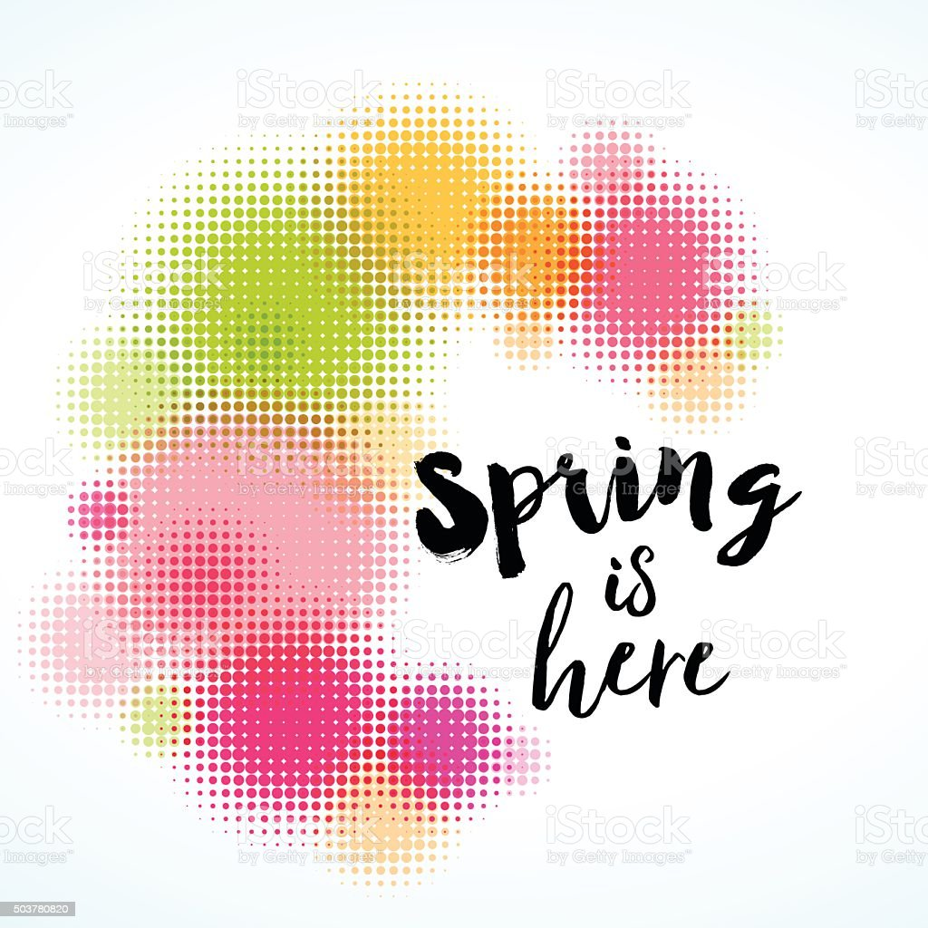 Abstract Spring Background Royalty Free Stock Vector Art Amp More Images