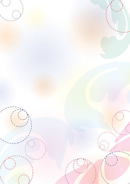 Abstract spring pastel background, part 2 vector art illustration