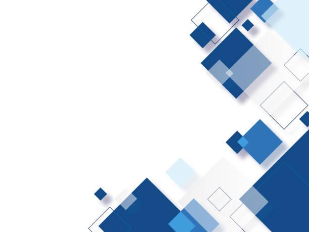 illustrazioni stock, clip art, cartoni animati e icone di tendenza di abstract square background - rombo