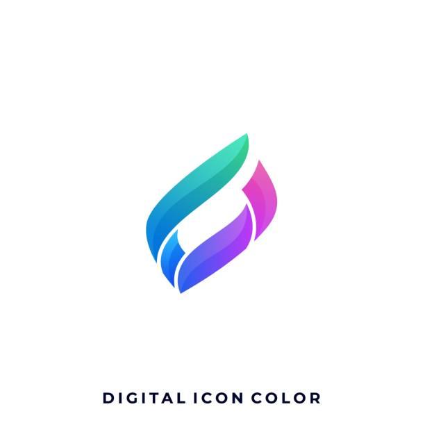 bildbanksillustrationer, clip art samt tecknat material och ikoner med abstrakt kvadrat illustration vektor formgivningsmall - social media post template