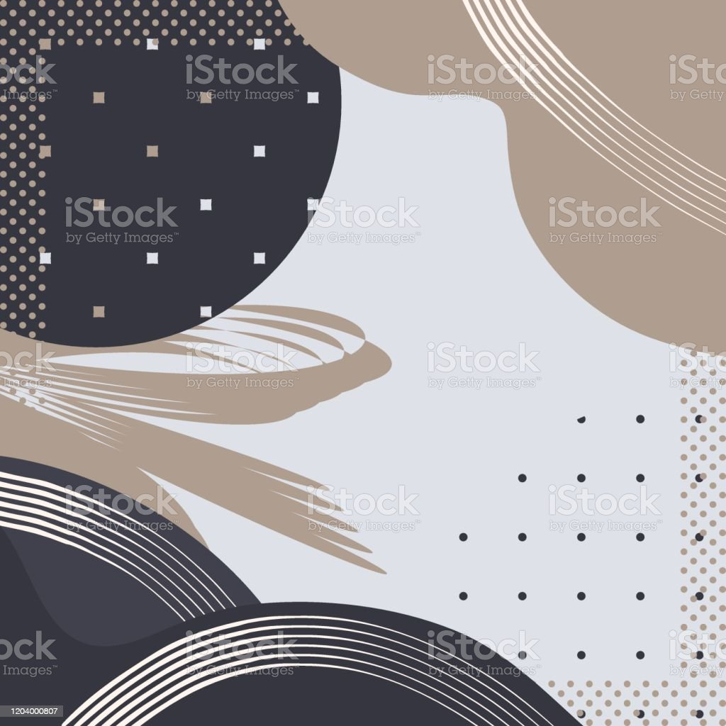 Abstract Square Print Cute Geometrical Background For Scarf Print Napkinfabriccovers Scrapbooking Decoupage Bandana Pareo Home Textile Plant Designfashion Style In Navy And Grey Tonesvector Stock Illustration Download Image Now Istock