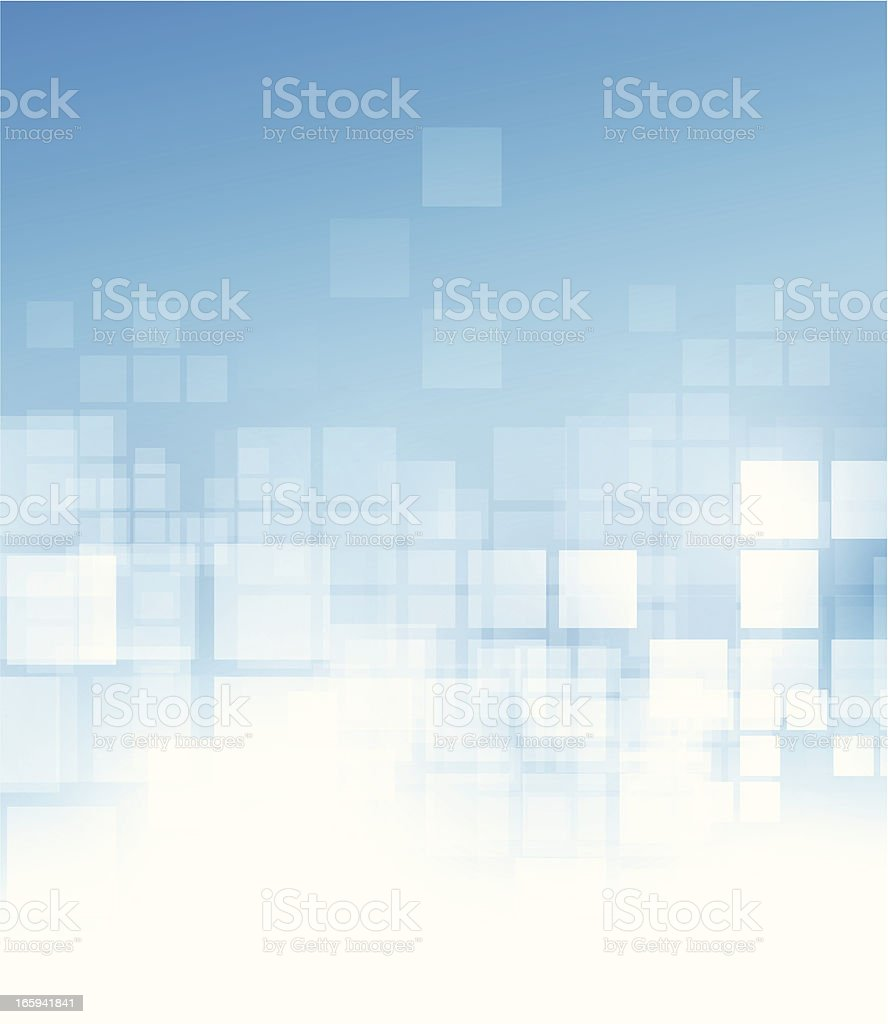 Abstract squares background vector art illustration