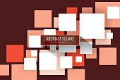 Geometric Shape, Cube Shape, Shape, Tile, Tiled Floor, Red