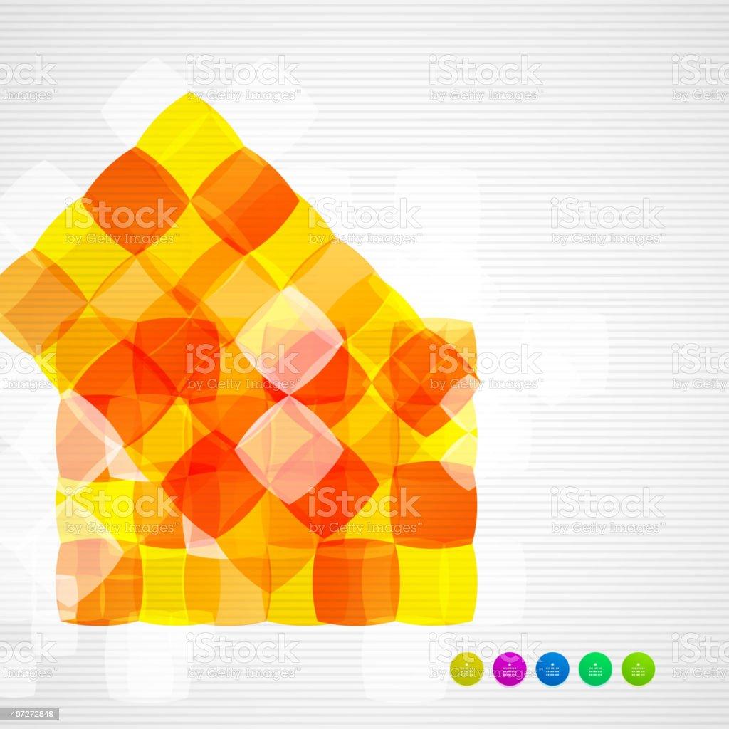 Abstrakte Quadrate Geometrische Moderne Vorlagen Stock Vektor Art ...