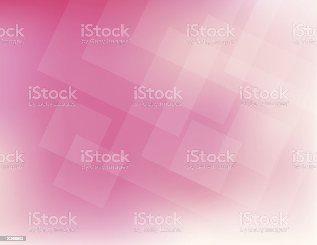 Abstract squares in various pink hues royalty-free stock vector art