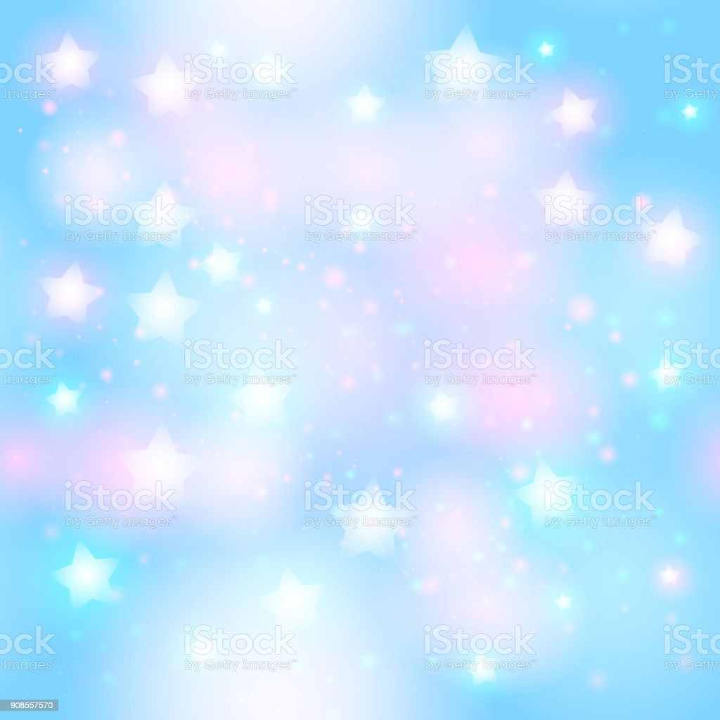 Abstrait Motif Sans Soudure étoilé Avec Néon étoiles Sur