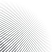 Abstract striped background with perspective