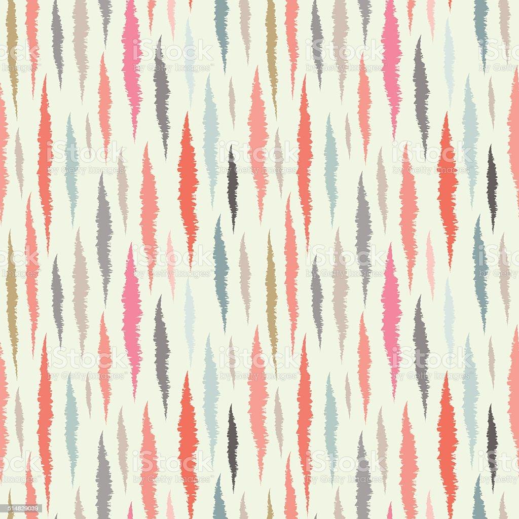 Abstract striped seamless pattern vector art illustration