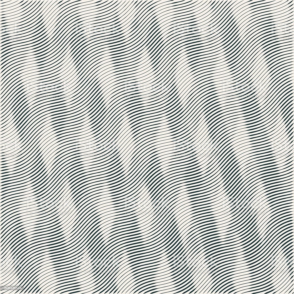 abstract striped vector wave background. vector art illustration