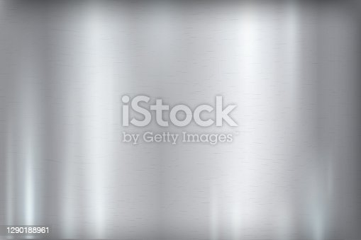 istock Abstract strong grey metal background. Steel polished texture 1290188961