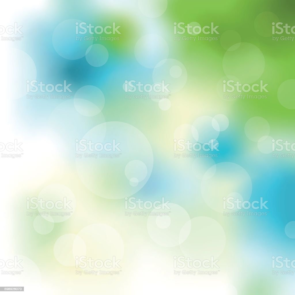 Abstract structure vector art illustration