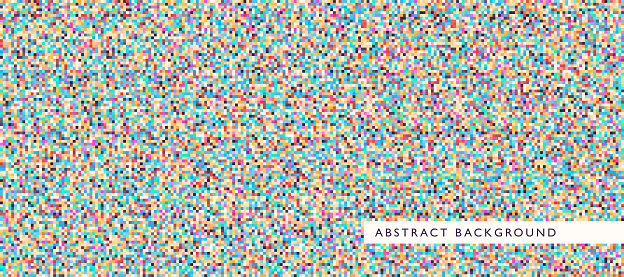 Abstract style pixel texture.