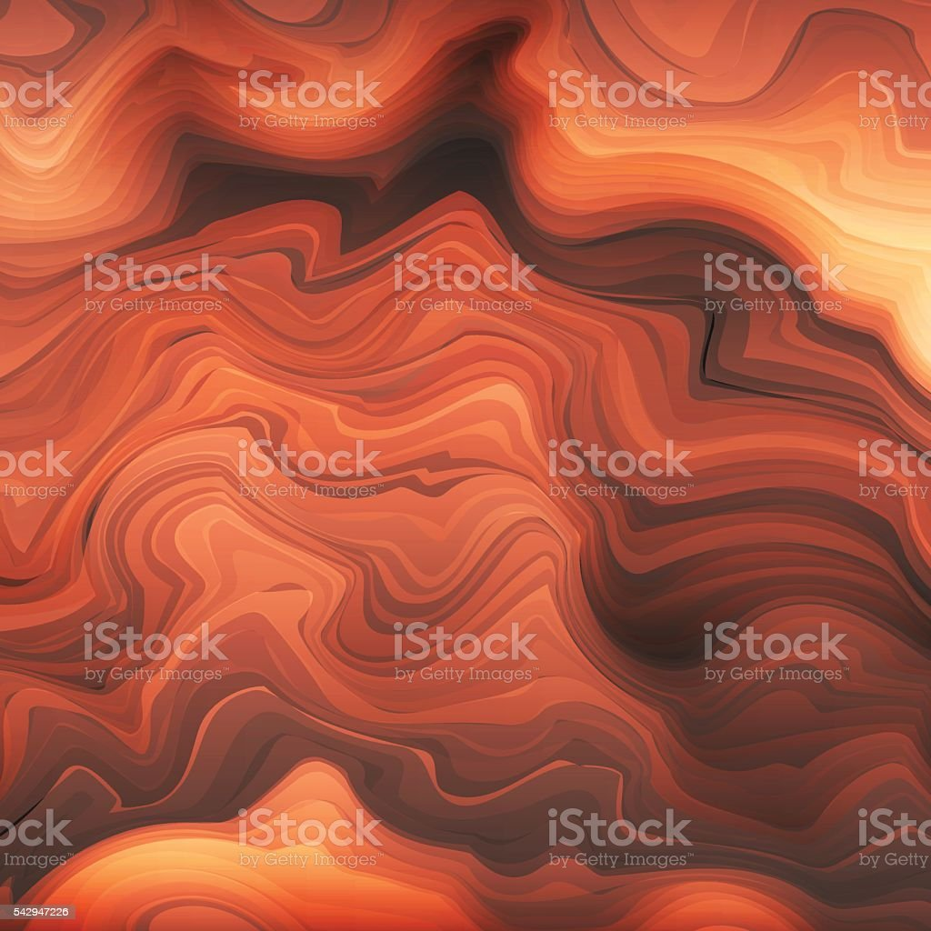Abstract stylized texture brown stone vector art illustration