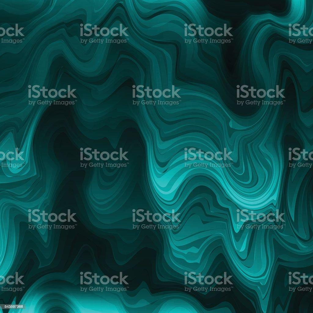 Abstract stylized texture malachite vector art illustration