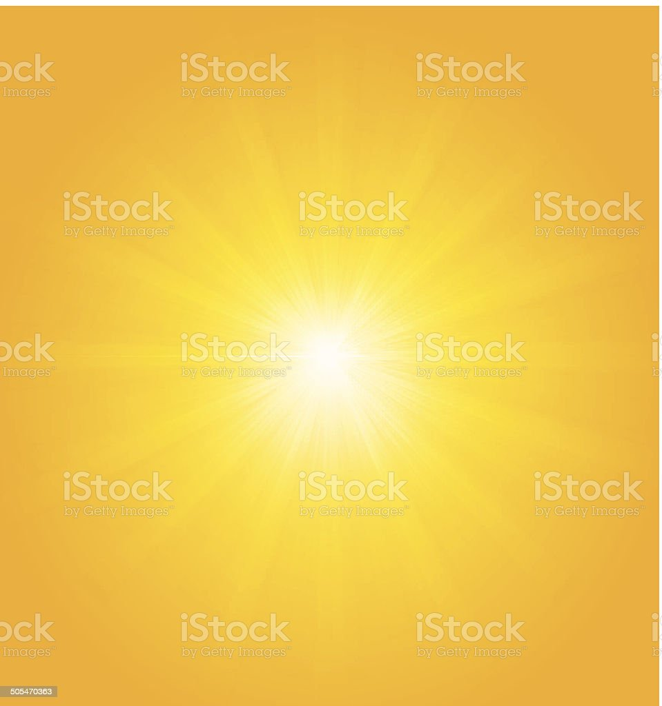 Abstract summer background with hot colors royalty-free stock vector art