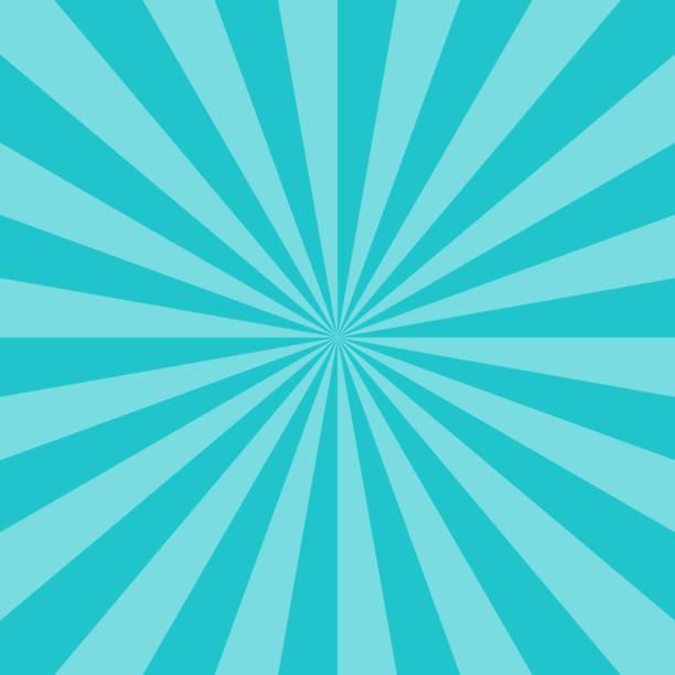 Abstrakte Sunburst oder Sonnenstrahlen leeren Hintergrund. Leere retro Vintage Kulisse im quadratischen Format. Grafik Design-Element wird als ein Vektor-Illustration gespeichert. – Vektorgrafik