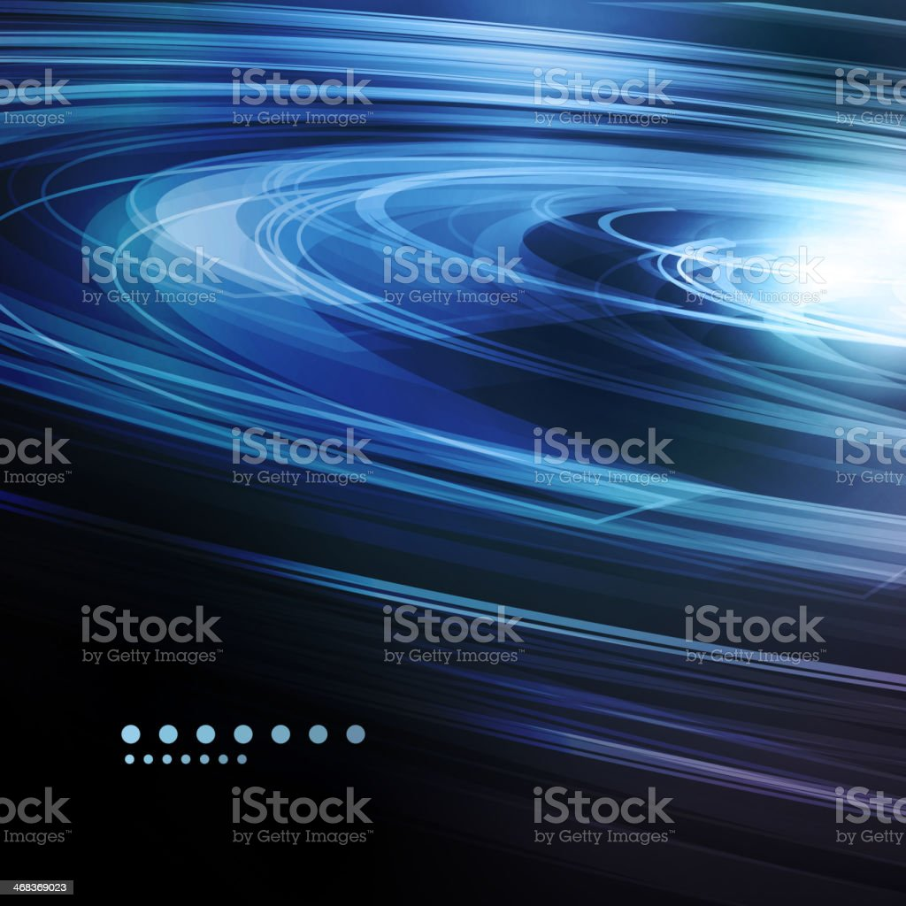 Abstract swirl background vector art illustration