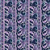 Abstract Swirl Stripe Background Pattern