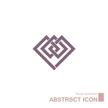 Abstract symbol design.