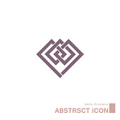 Abstract symbol design.