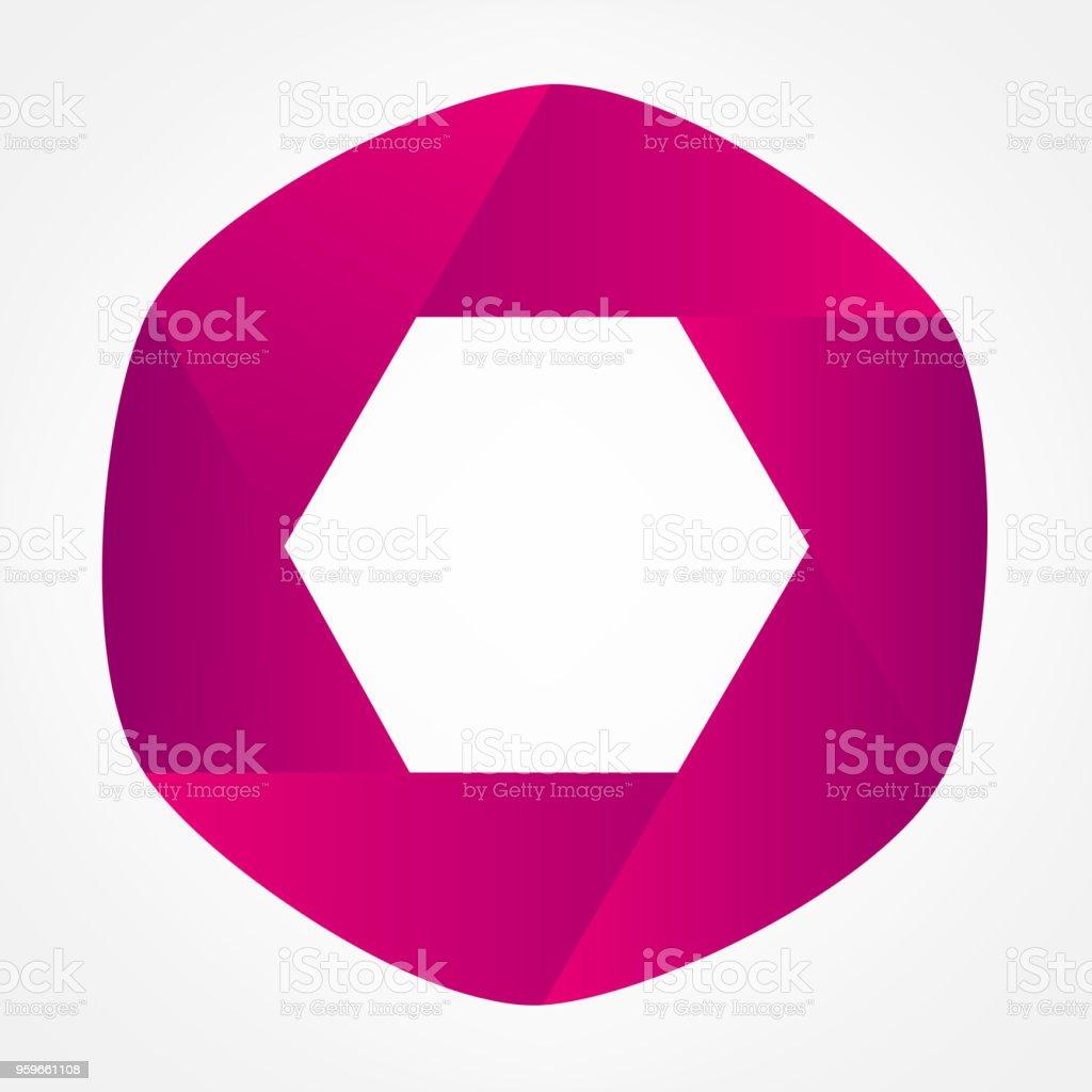abstract símbolo - arte vectorial de Abstracto libre de derechos