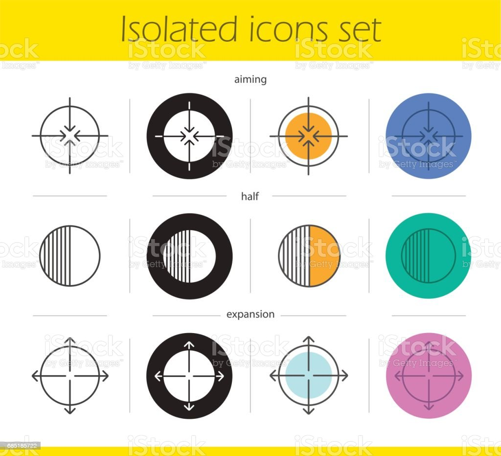 Abstract symbols icons royalty-free abstract symbols icons stock vector art & more images of abstract