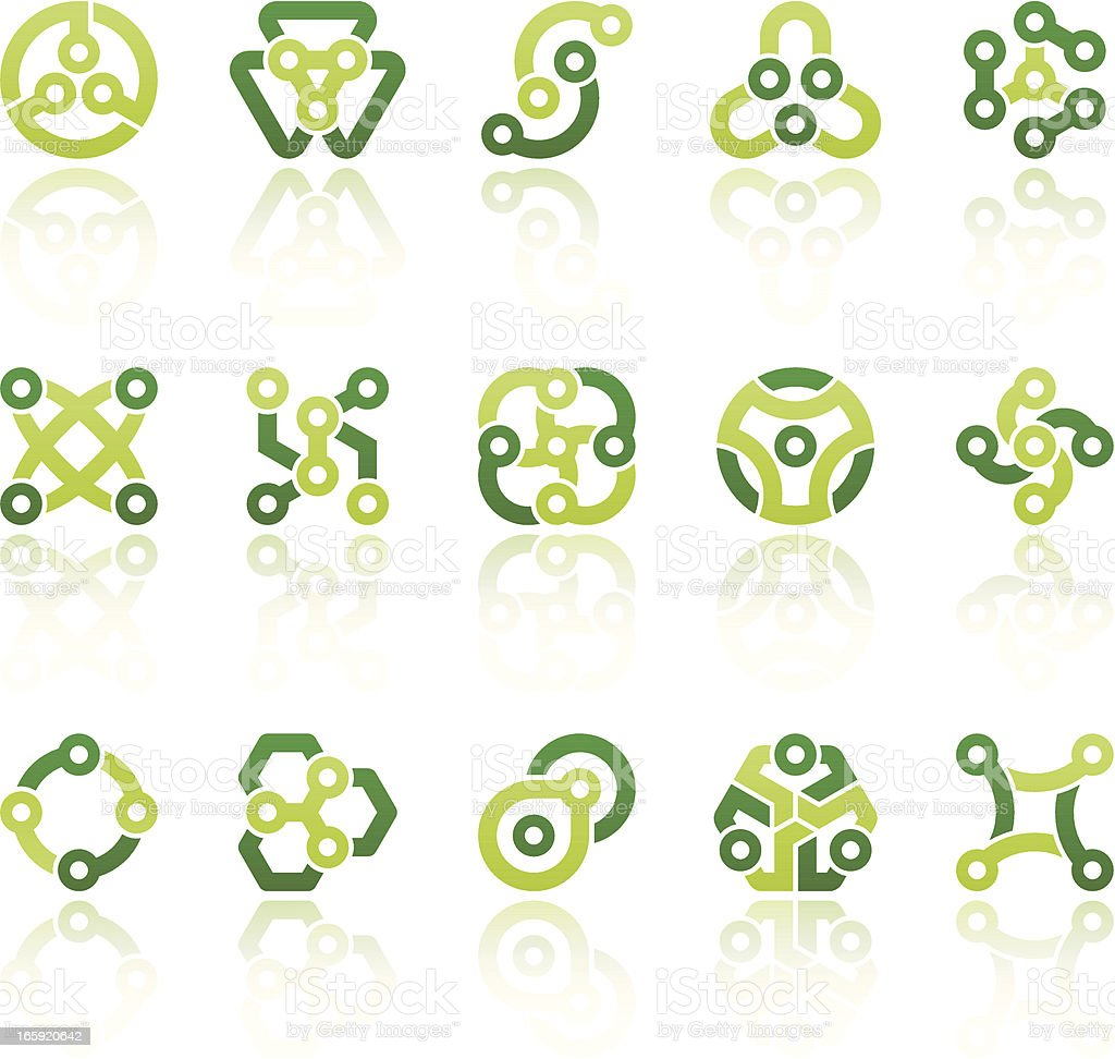 abstract symbols III royalty-free stock vector art