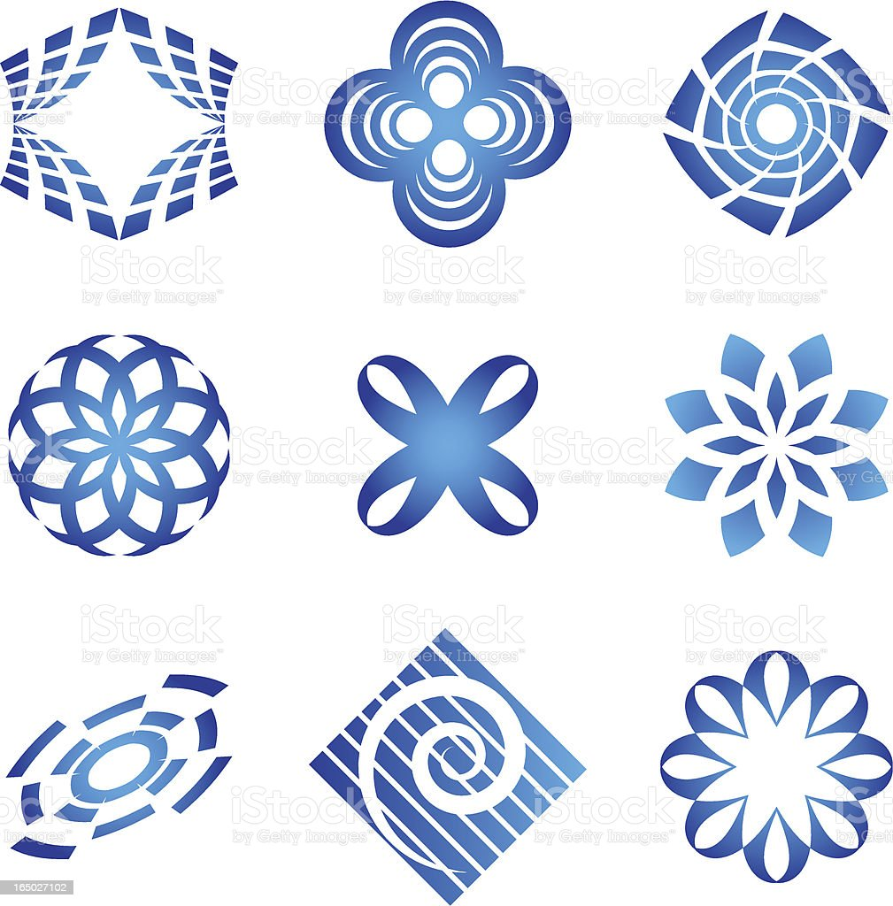 Abstract Symbols - vector royalty-free abstract symbols vector stock vector art & more images of abstract