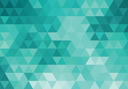 abstract teal geometric background, vector