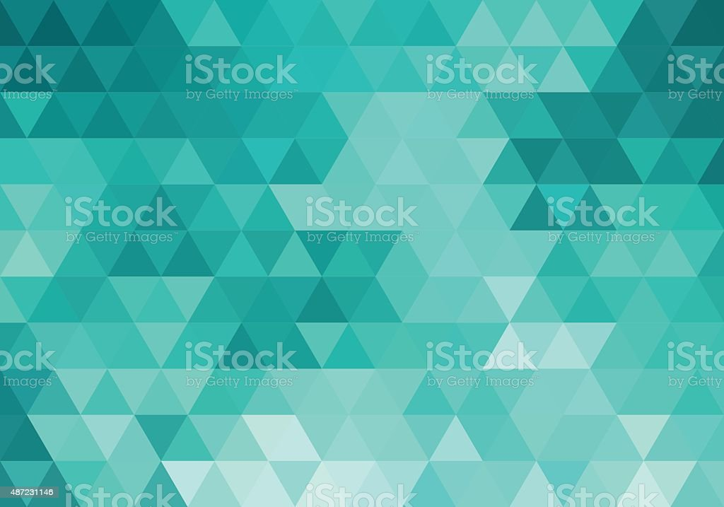 abstract teal geometric background, vector vector art illustration