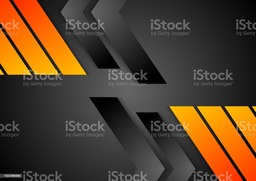 Abstract tech corporate background vector art illustration