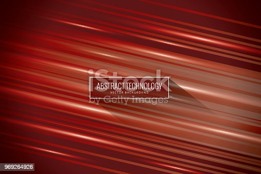 859156600istockphoto Abstract tech red background 969264926