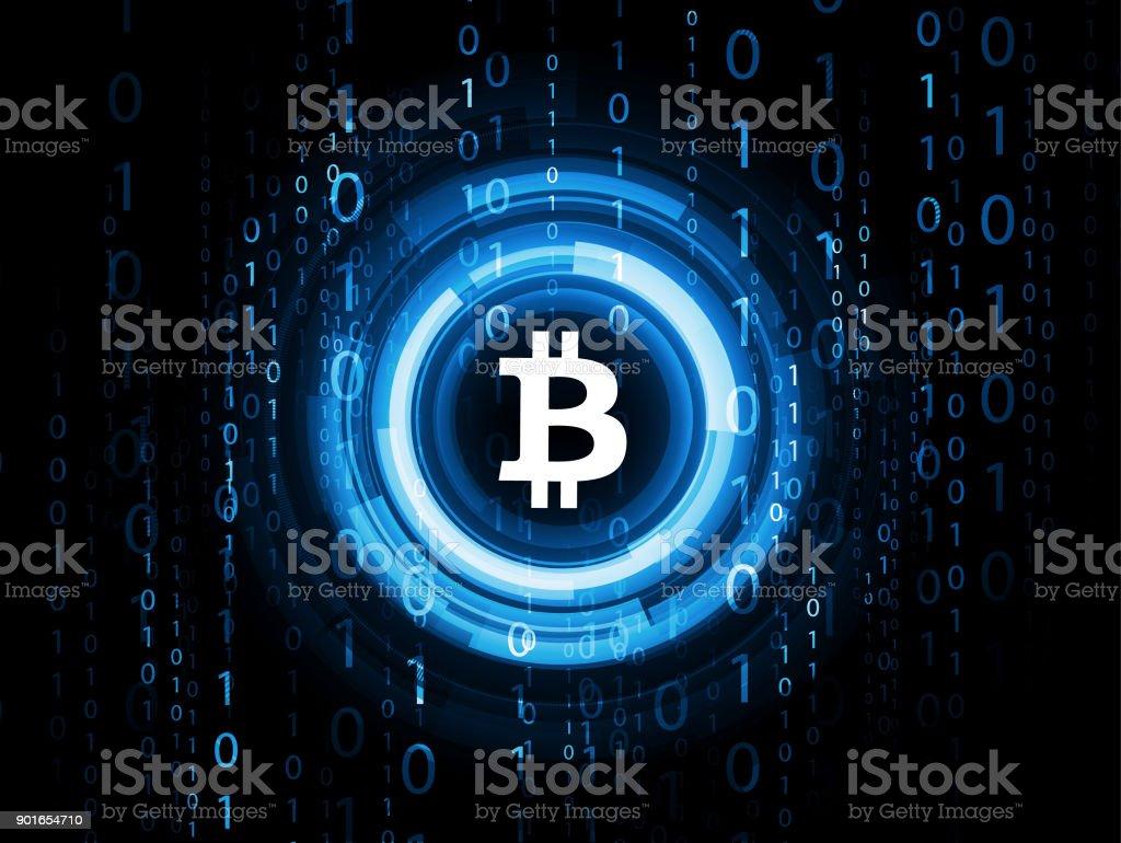 Bitcoin, Astratto