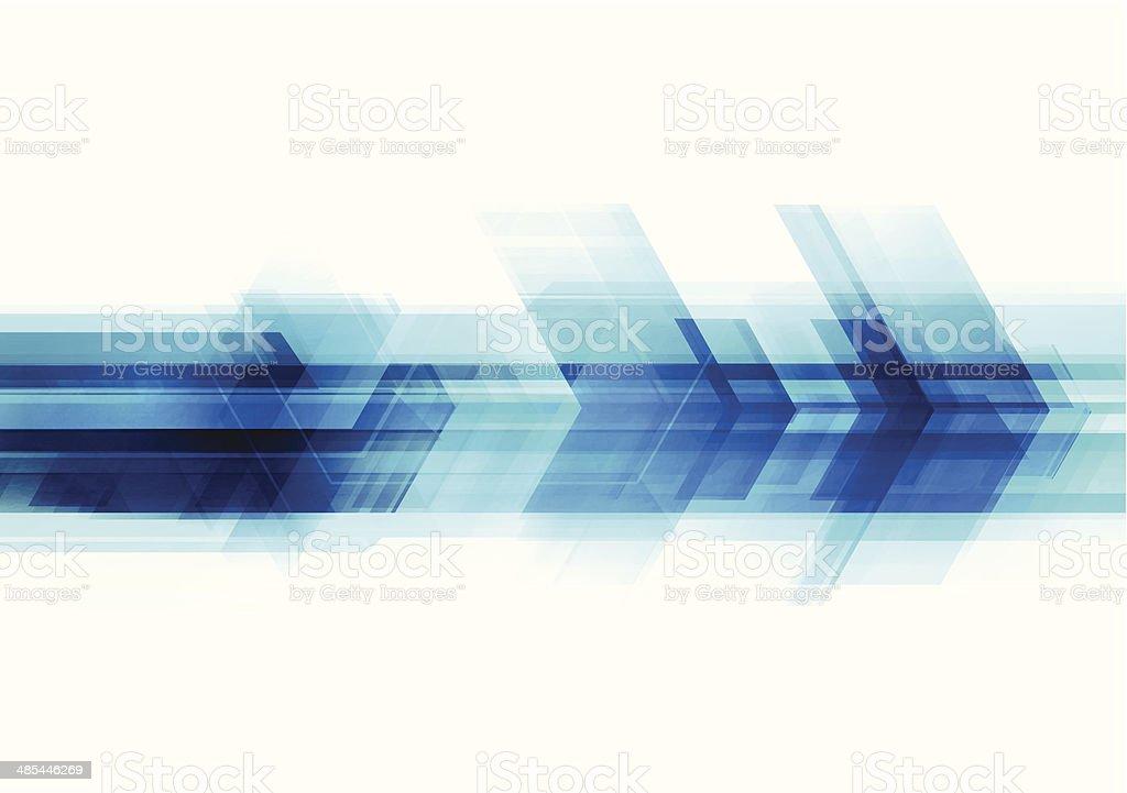 Abstrato tecnologia fundo - ilustração de arte em vetor