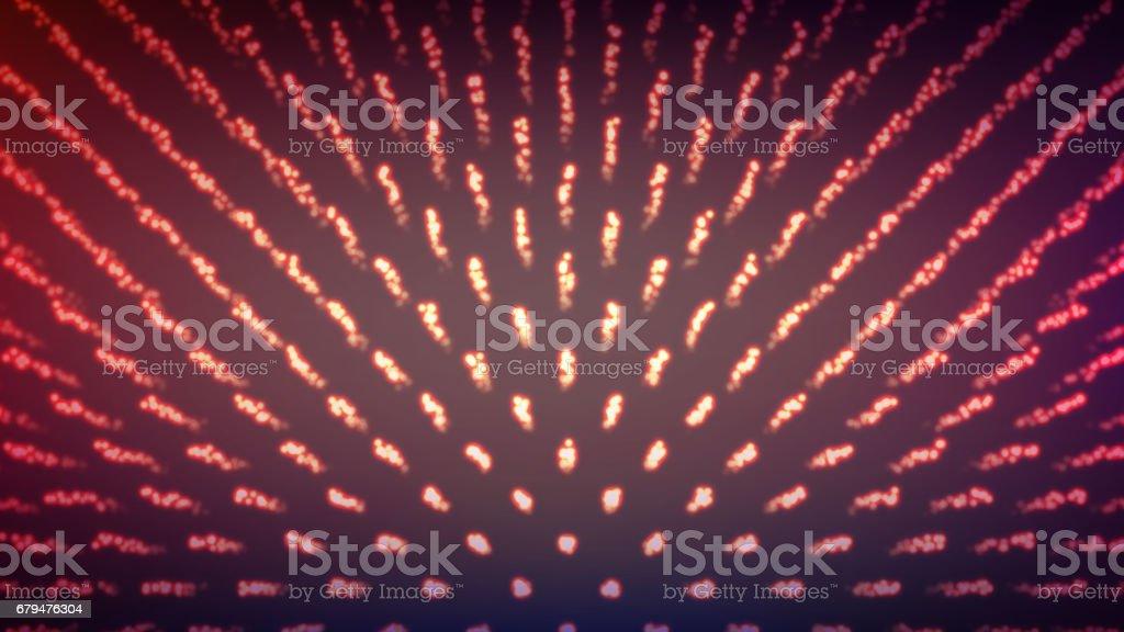 抽象的技術設計。現代科技理念。粒子陣列。向量插圖 免版稅 抽象的技術設計現代科技理念粒子陣列向量插圖 向量插圖及更多 互聯網 圖片