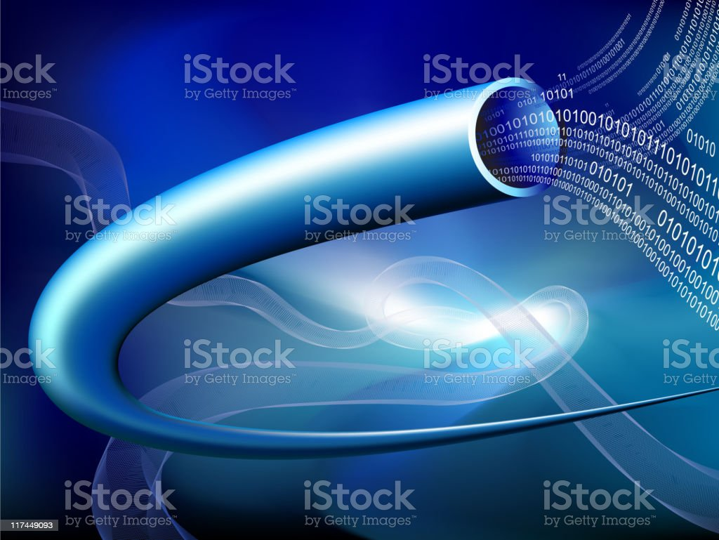 Abstract technology and communication Background royalty-free stock vector art