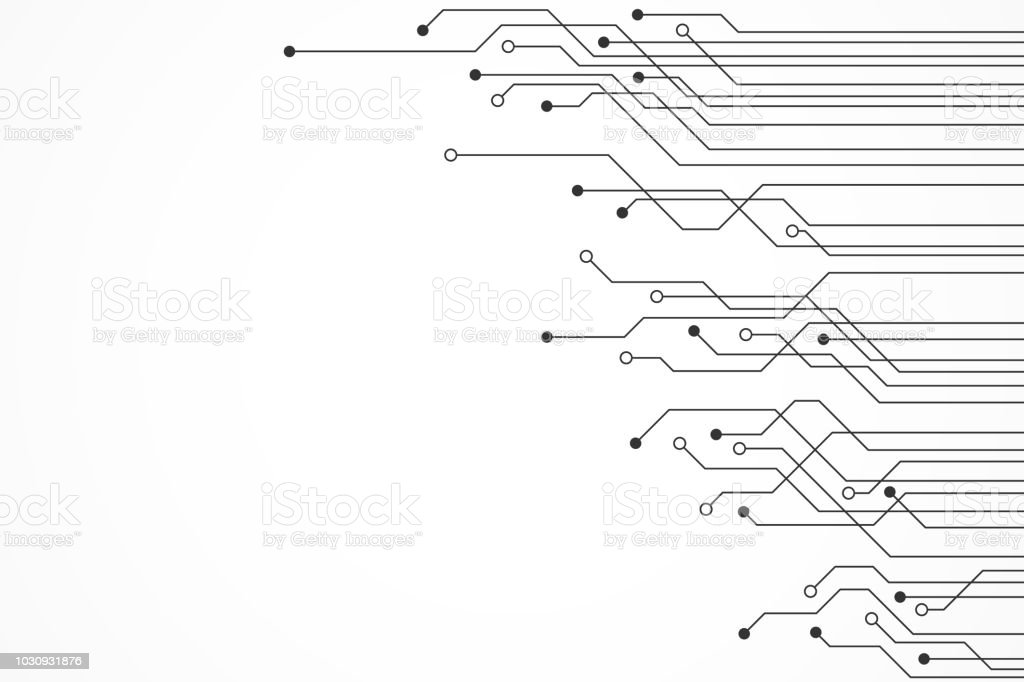 Abstract Technology Background , circuit board pattern royalty-free abstract technology background circuit board pattern stock illustration - download image now