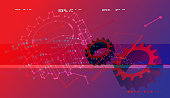 Abstract Technology Background - Illustration