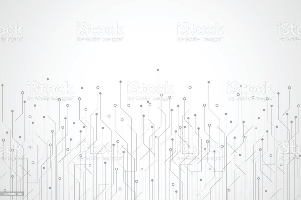 技術の抽象的な背景  ロイヤリティフリー技術の抽象的な背景 - つながりのベクターアート素材や画像を多数ご用意